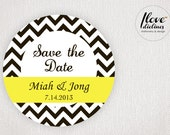 ON SALE - Personalized Save the Date/Thank You/ Labels/Gift favor labels/Party labels/Wedding labels