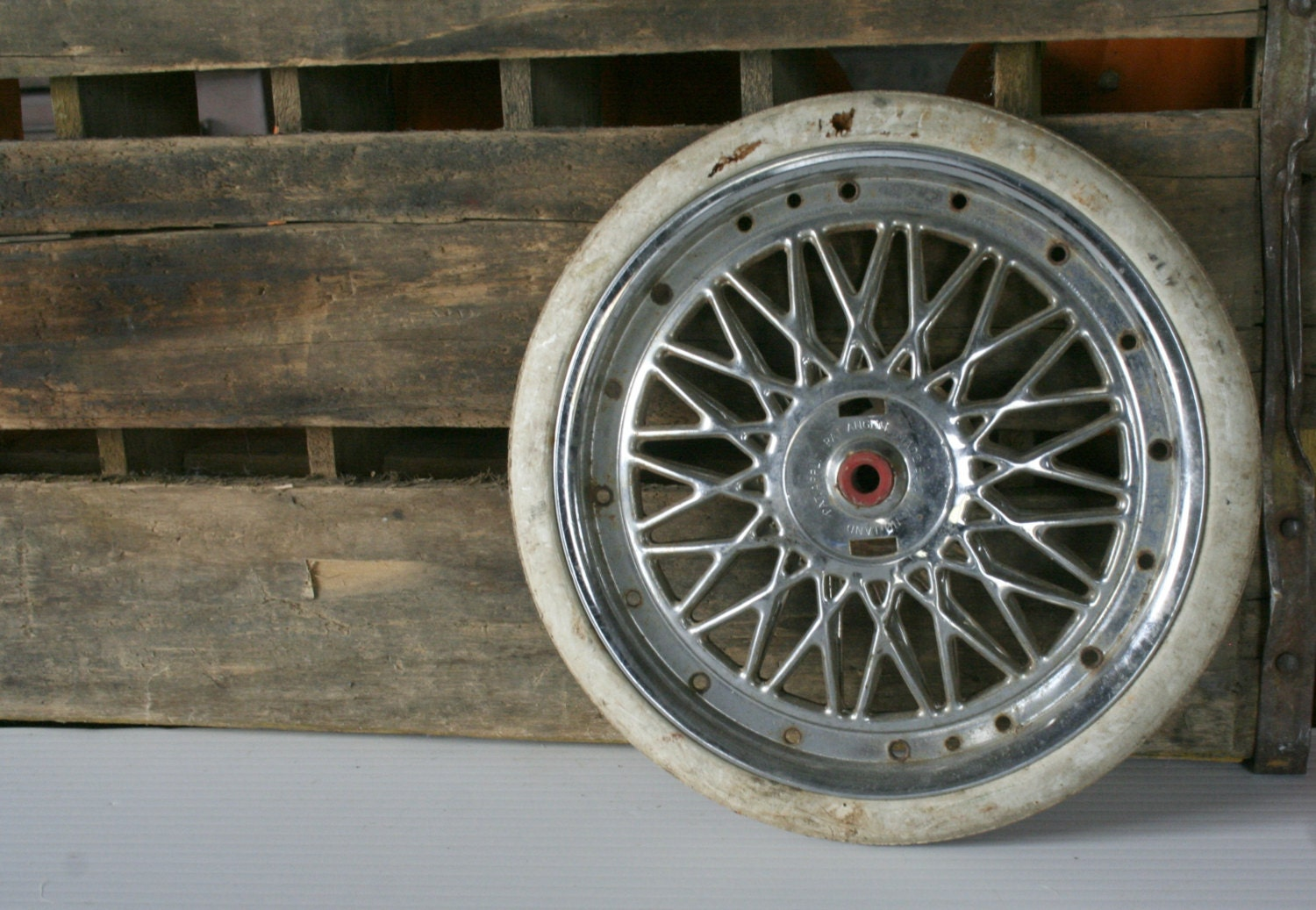 Vintage Baby Stroller Wheel Baby Buggy Wheel By