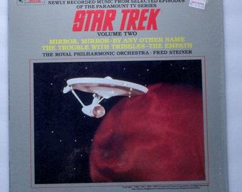 "Rare ""Star Trek: Volume II"" Vinyl LP TV Soundtrack - Very Good Condition"