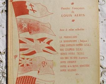 Vintage French Song / Sheet Music - British National Anthem (God Save  The King)