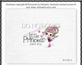 Custom Premade Logo Design template - kawaii baby Girl cute logo photography business boutique etsy online shop by princess mi logo1146-3