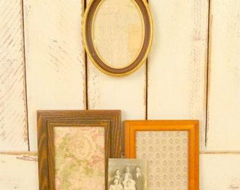 Vintage frames/wood resin picture frames/instant frame collection