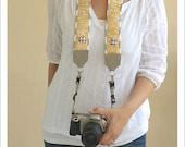 pro camera strap - sunshine