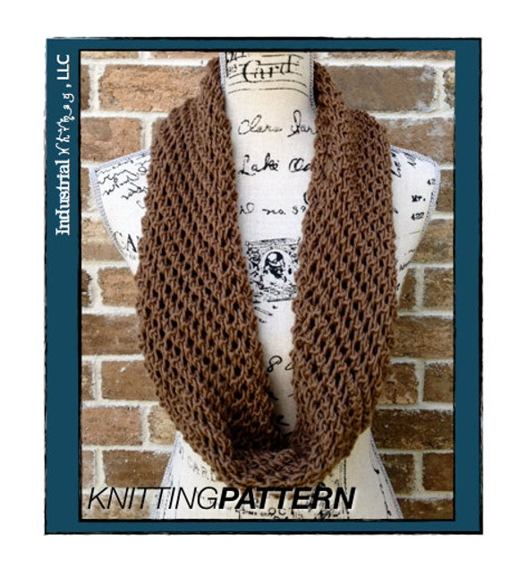 Infinity Scarf Knitting Pattern Craft Party By