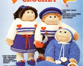 The Original DOLL BABY In CROCHET by Janice Hadesman Fibre-Craft 1984