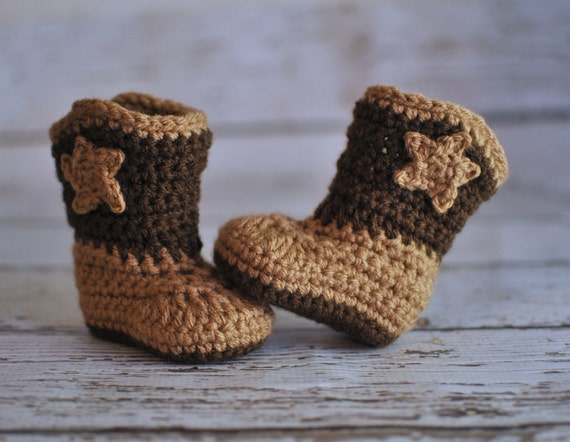 Crochet Pattern For Baby Cowboy Booties Dancox For