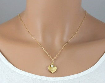 Calla Lily Necklace - 14K Gold Filled Flower Necklace