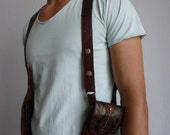 Burning Man Leather Holster