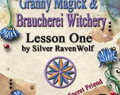 Granny Magick Braucherei Pa Dutch PowWow The Art of Whisper Magick Course Lesson One Digital Download