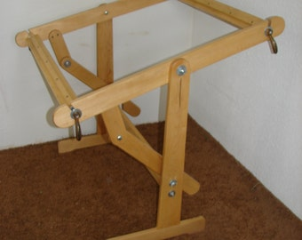 Popular items for weaving looms on etsy for Floor quilt frame