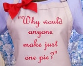 Personalized Apron Favorite Quote or Saying