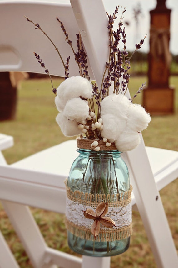 Items Similar To Mason Jar Wedding Decorations Hanging