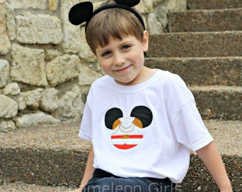 Prince Charming Mickey Mouse Head Disney Inspired T Shirt