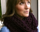 Choose Your Color - DAY ISLAND SCARF Cozy, chunky, warm and stylish infinity scarf