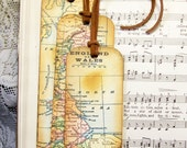 Old England Map Gifts for Men Historical Map Bookmarks Set of 3 Map England & Wales Old World Map Bookmark Map Gifts for Him Map Collectors