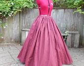 Red Costume Skirt