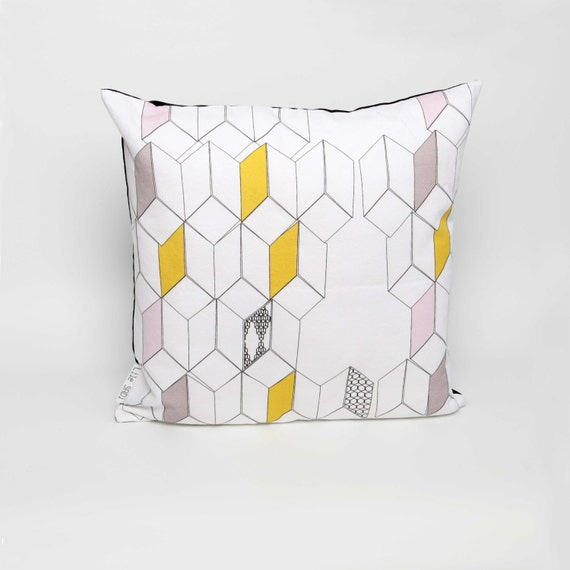 Cushion cover  'Dimensions' '18'x'18'