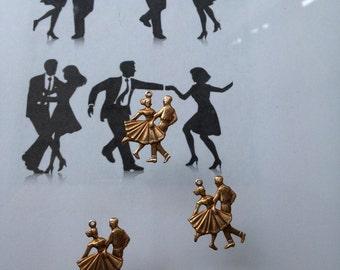 Jazz Swing Dancers (4 pc)