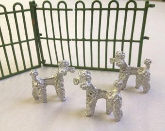 Poodle Miniature Dog (1pc)