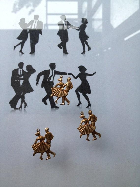 Jazz Swing Dancers (3 pc)