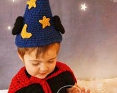 Mouse Wizard Magical Fantasy Hat & Cape - Halloween Costume Photo Prop - Boy Girl Baby Shower Gift - MADE To Order