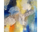 Fine art giclée print from original abstract painting - Small print