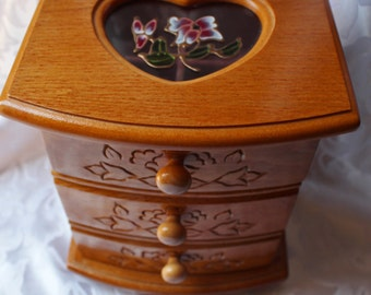 Jewelry Box Pine Colored