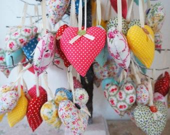 Hanging heart decorations, housewares, home decor, decoration, heart cushion,