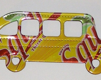 School Bus Magnet - Squirt Soda Can