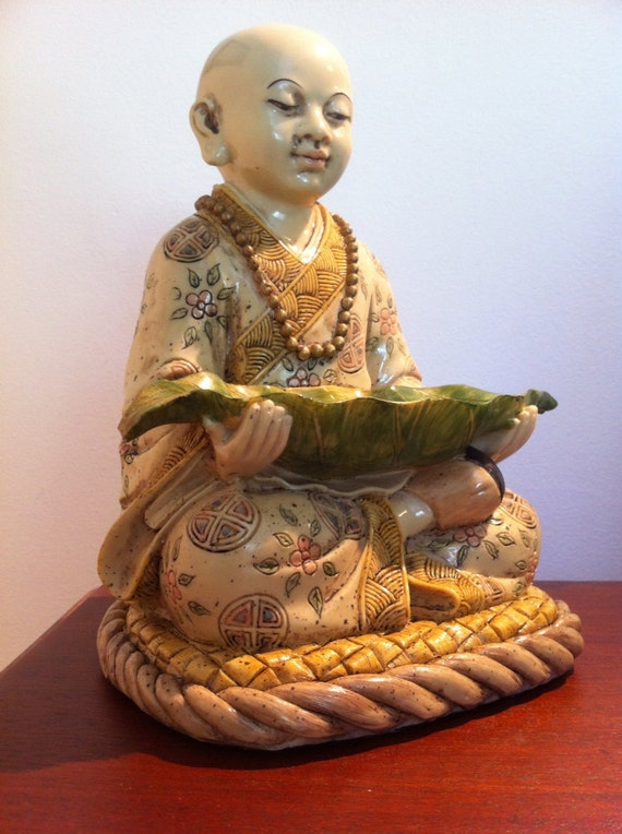 Buddha Baby Boy Statue Sakyamuni Small Sculpture Garden Zen