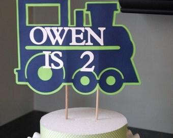 Train Cake Topper, Train Birthday, Train Decorations, Train Smash Cake, Train Party Supplies, Train Party Decor