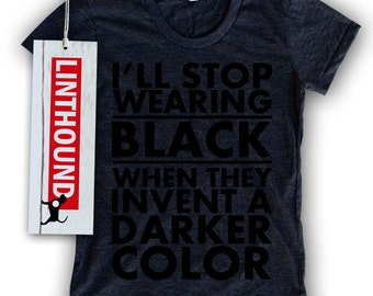 Black on Black Women's T-Shirt