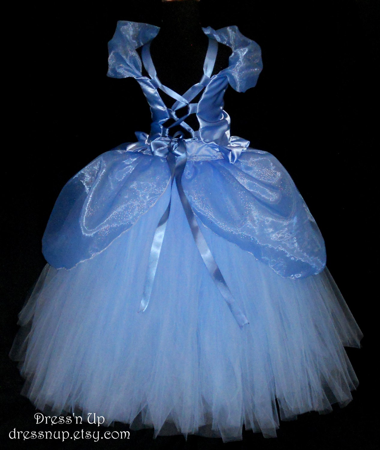 Costume girls cinderella princess diy ice princess costume girls