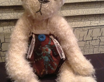 Mohair Artist Bear by Audrey Howell of 2 Friends