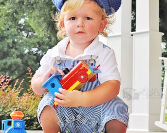 Train Conductor Hat- Train Conductor costume- Boys dress up