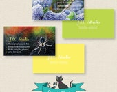 Photography Business Cards Custom Printable