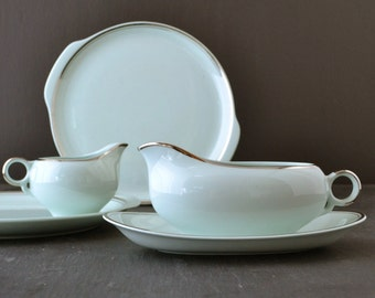 Ballerina Mist Serving Pieces Vintage Dinnerware