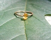 Citrine Solitaire in 14kt GF - GoldiesNaturalGems