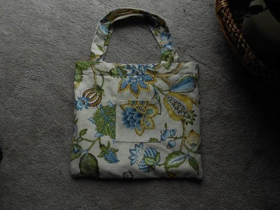 Large Cotton 13 x 15 x 11 inch Market Bag