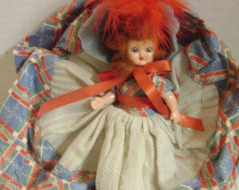 Vintage 1940 Celluloid Hollywood Doll