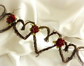 Fall Wedding Decor, Christmas Rustic Decorations, Vine Garland, 5ft With Or Without Roses
