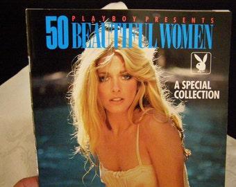 Playboy Presents 50 Beautiful Women 1989 Supplement, A Special Collection, Bo Derek, Vanna White, Farrah Fawcett, Linda Evans to name a few