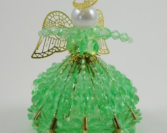 Angel Ornament - Beaded Ornament - Christmas Ornament