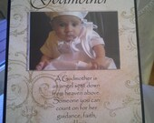 "Custom Wood ""Godmother"" Frame - for Deb"