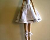 Tilda's White Ballerina