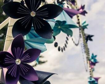 Arbor Decoration  - Kusudama paper Flowers
