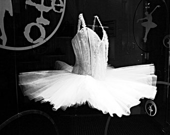 mom wall art ballet photography black and white photography Paris decor french photo tutu dress ballerina ballet art 4x6 5x7 6x8 8x10