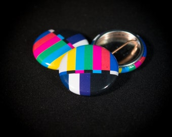 Color Bars | 1-inch Buttons |