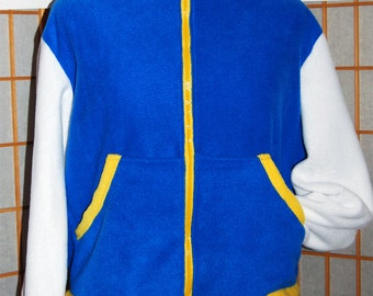 Pokemon - Ash Ketchum Hoodie jacket cosplay costume coat handmade