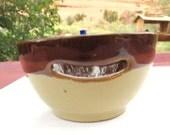 Vintage Pottery Ceramic Egg White Separator